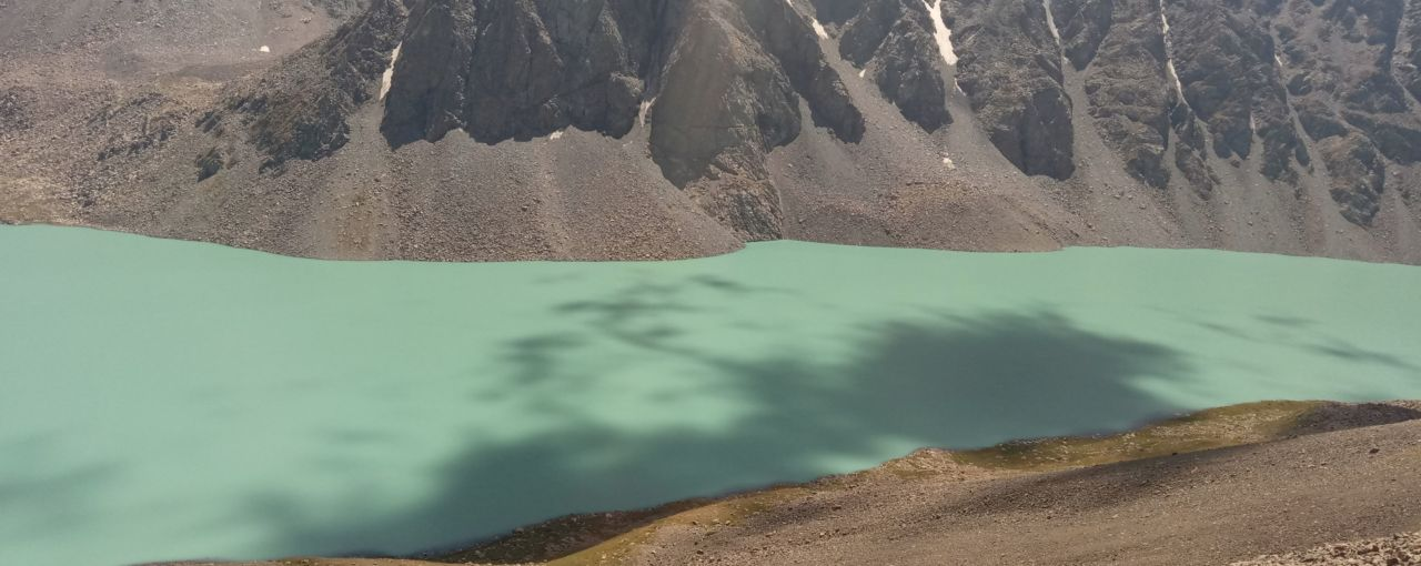 Kirgistan - granica w Karkara i jezioro Ala Kul
