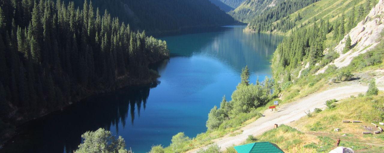 Jeziora Kolsay i Kaindy, Kazachstan