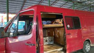Cargo Bus Biszkek-Osh