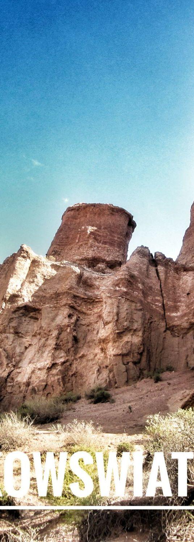 Kazachskie przygody - część pierwsza. Z Ałmaty do Kanionu Szaryńskiego