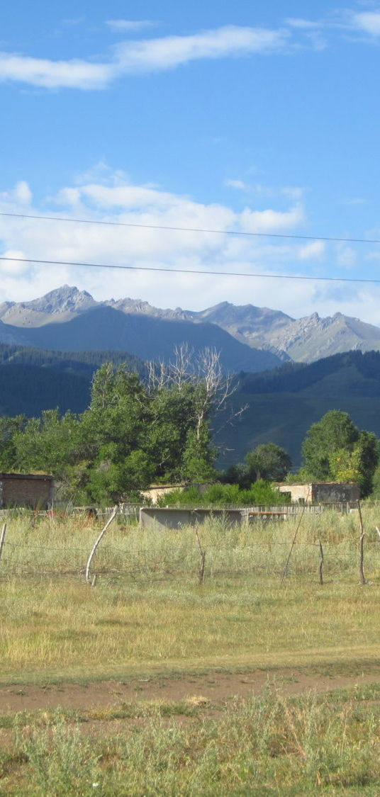Kazachskie przygody część trzecia - Kaindy i granica z Kirgistanem