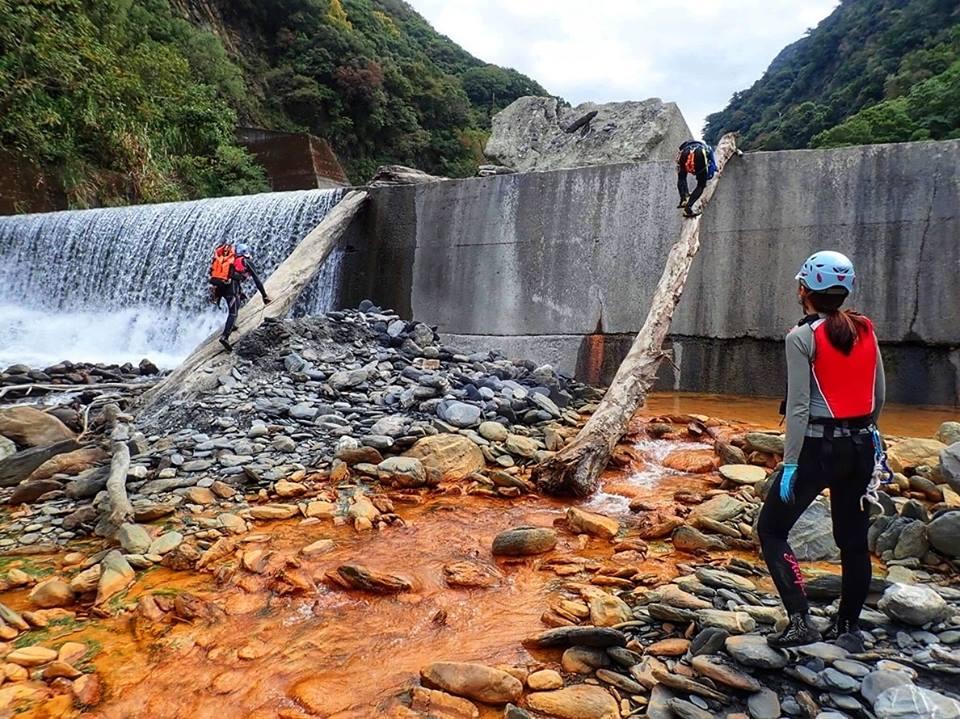 wspinaczka w gore rzeki, Tajwan