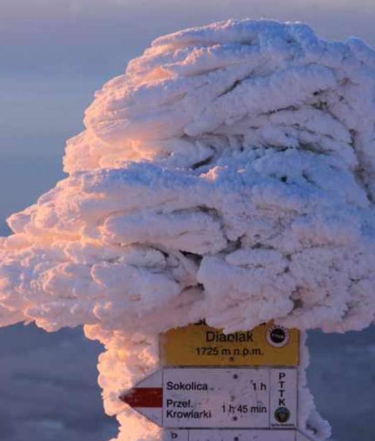 Babia Góra latem i zimą