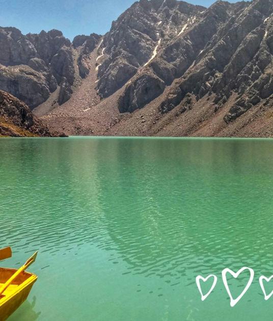 Trekking nad jezioro Ala Kul w Kirgistanie