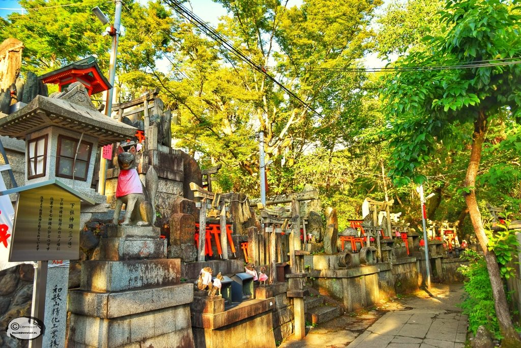 Ołtarz na szczycie góry Inari