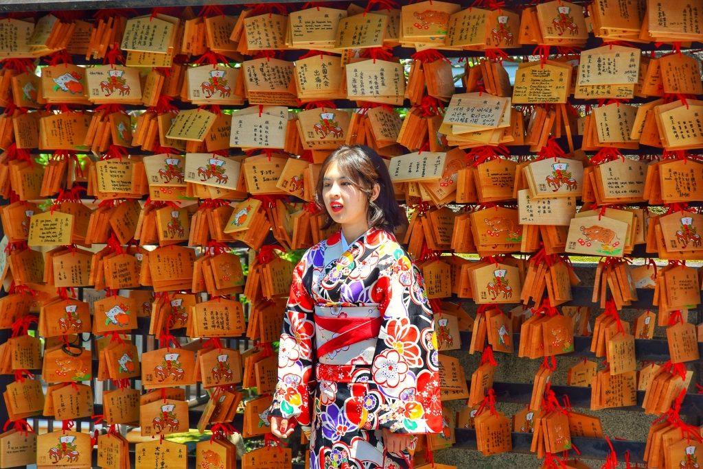 Kobieta w Kimono