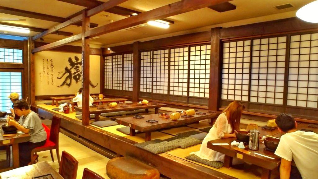Popularna restauracja w KAwaguchiko