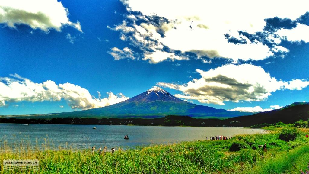 Wulkan Fuji Japonia