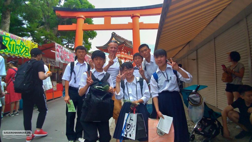 Młodzi Japończycy