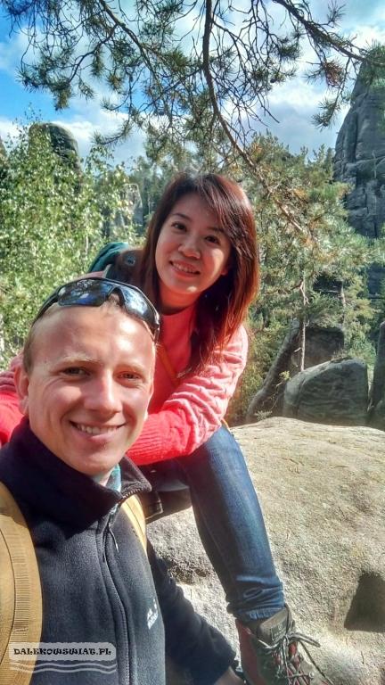 Ja i moja żona w Skalnym Mieście