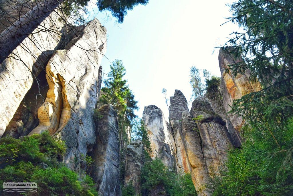 adrspach skały