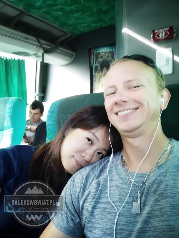 nauka w autobusie