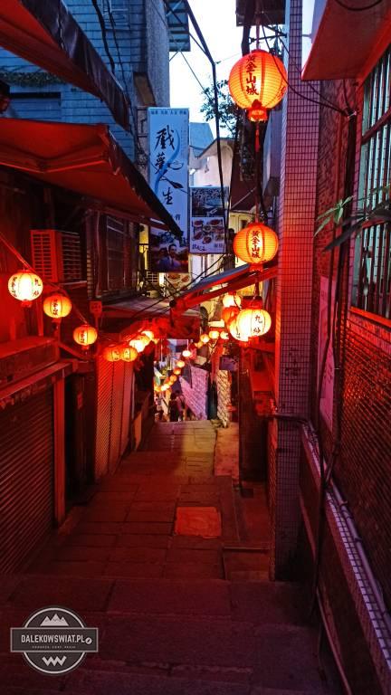 Old street Jiufen