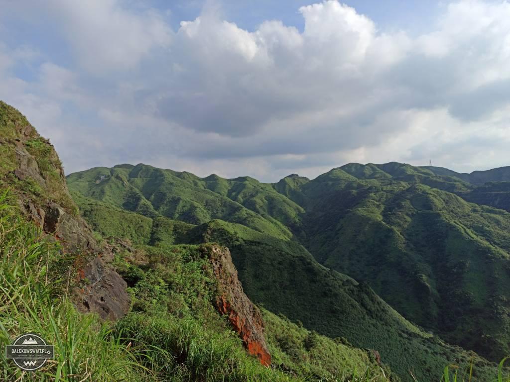 Widok na góry z teapot mountain