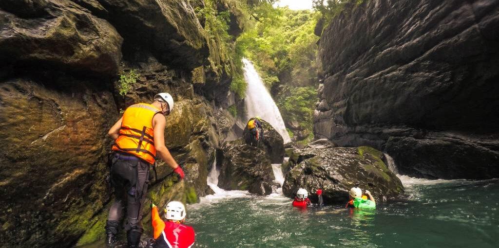 River Tracing na Tajwanie - coś jeszcze lepszego niż trekking górski?