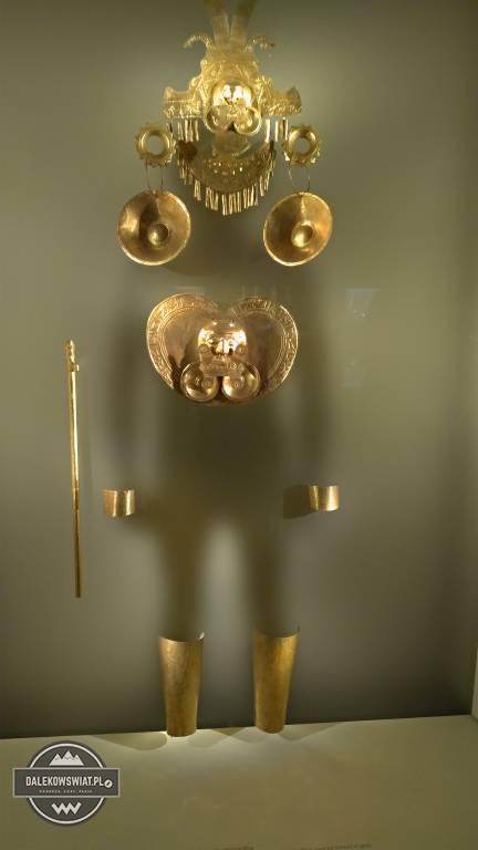 Muzeum Złota, Bogota, Kolumbia