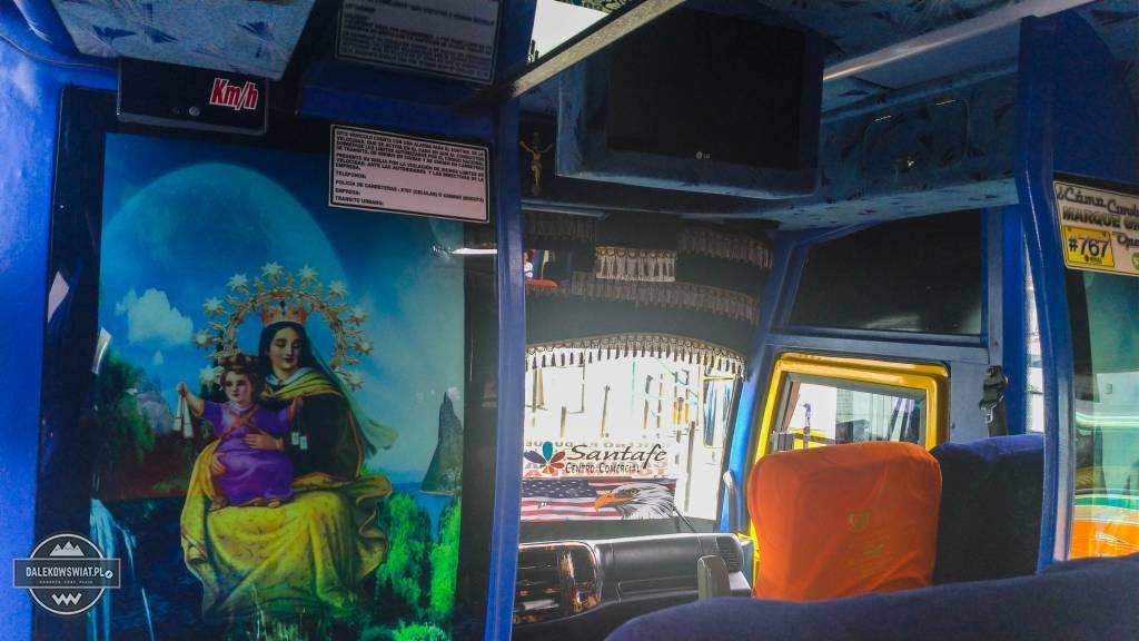 Autobus w Kolumbii