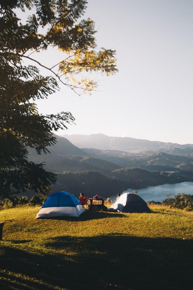 Noc w namiocie