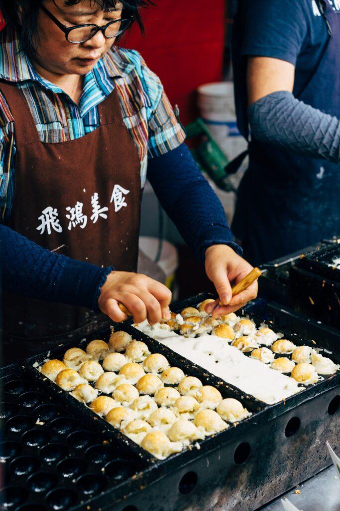 jedzenie na Tajwanie